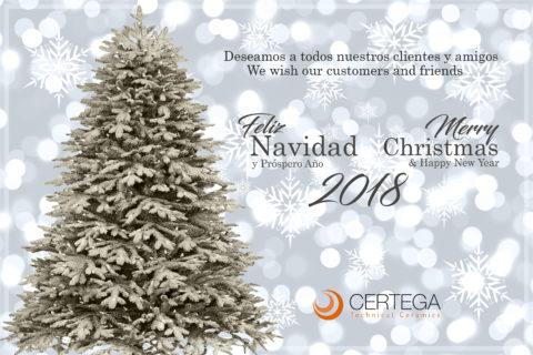 CERTEGA les desea una Feliz Navidad y Próspero Año Nuevo 2018