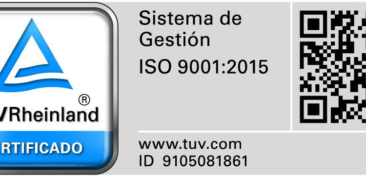 (Español) CERTEGA supera con éxito la recertificación de su Sistema de Gestión de Calidad en base a la nueva norma ISO 9001:2015