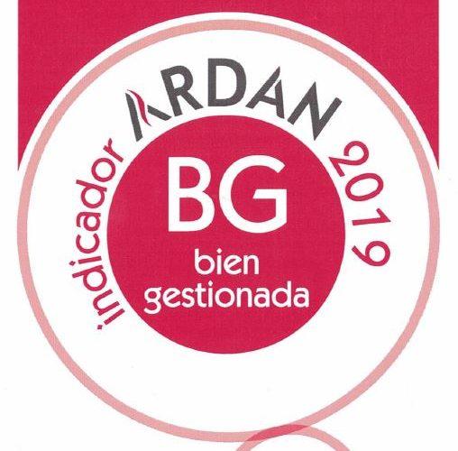 (Español) CERTEGA obtiene el indicador ARDÁN 2019